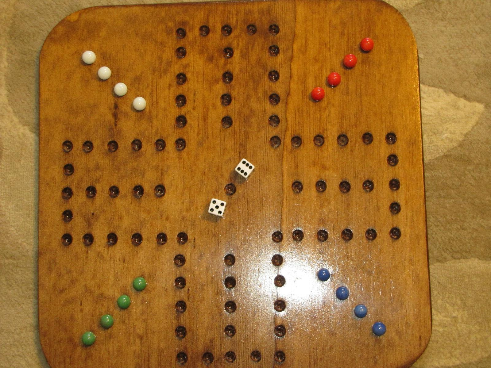 aggravation wahoo game four player square wooden