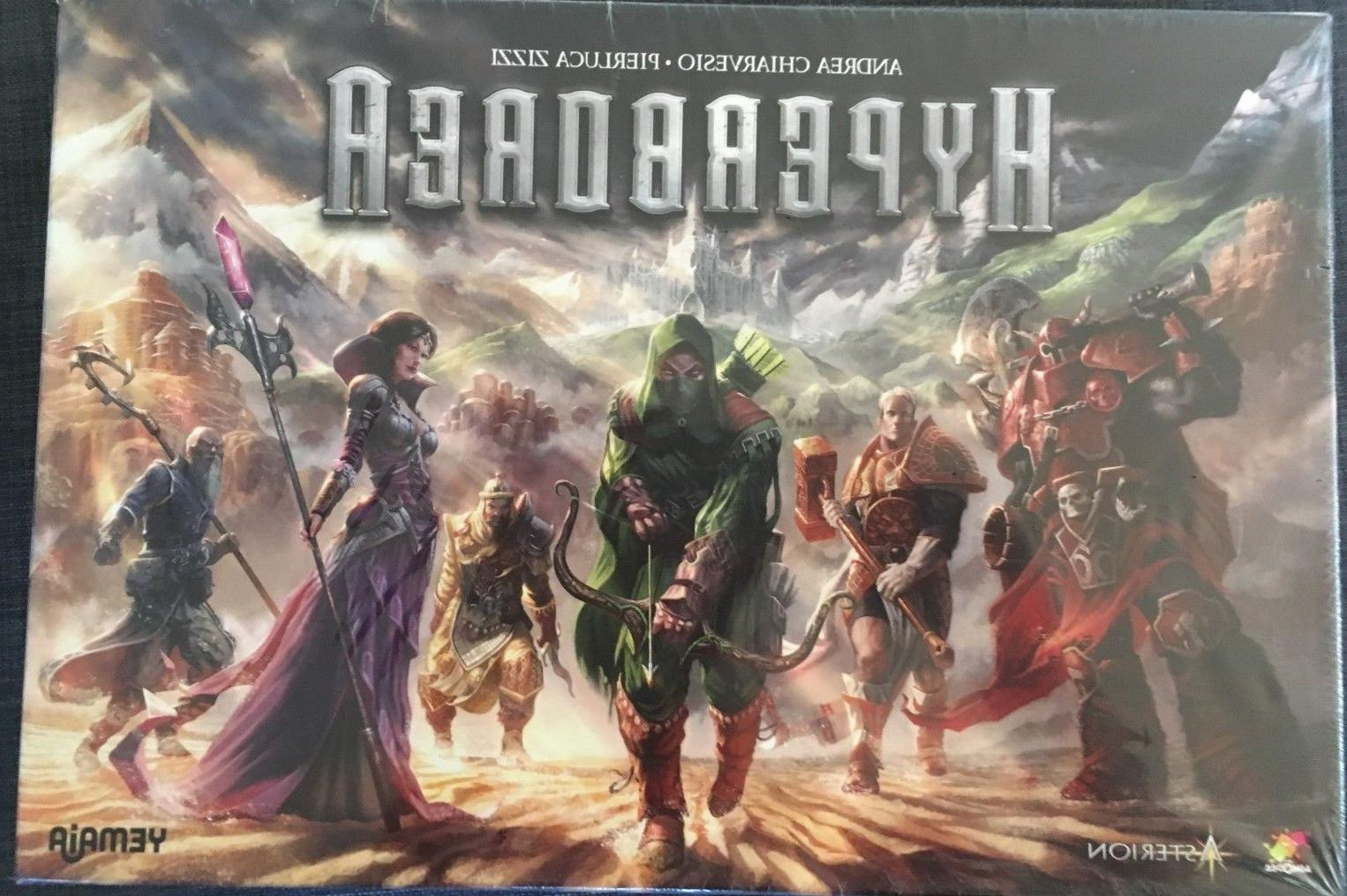 Asmodee Boardgame Hyperborea Box Deluxe minis included