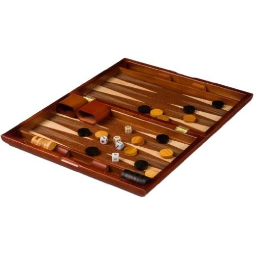 Backgammon - Wooden Piano Case 13