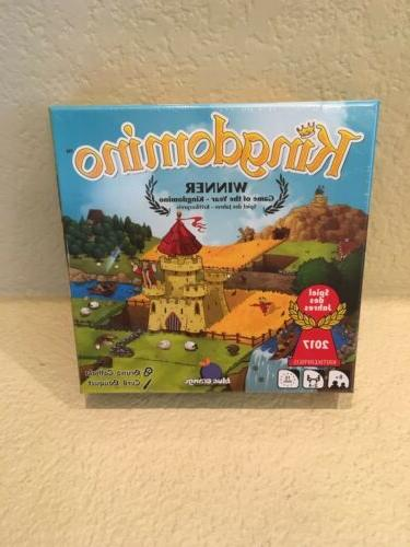 Blue Orange Games Kingdomino Award Winning Family Strategy B