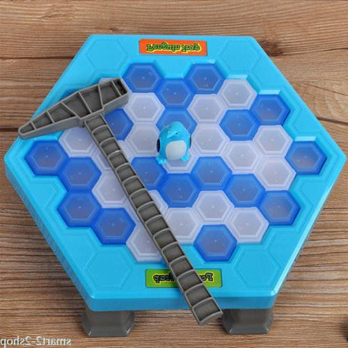 Breaking Ice Save Penguin Party Supplies Penguin Trap Board