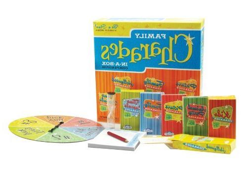 Charades Party Game - Family Charades-in-a-Box Compendium Bo