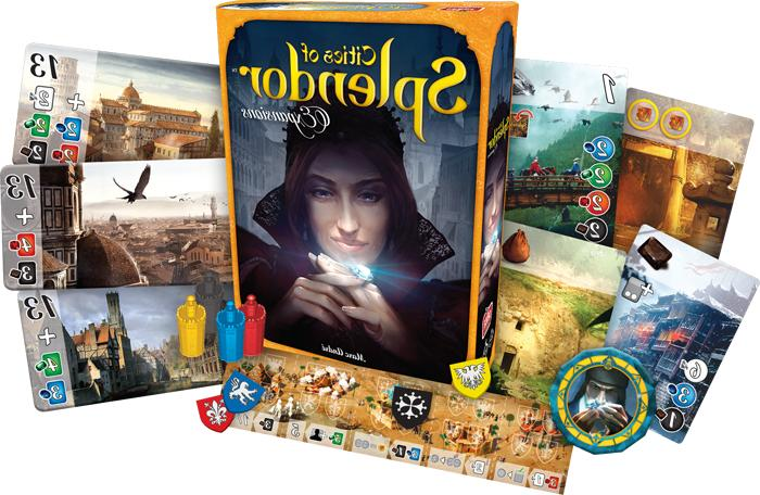 Cities of Splendor Official Expansion Board Game Asmodee