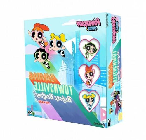Games - Pressman Toy - Powerpuff Girls Board Game