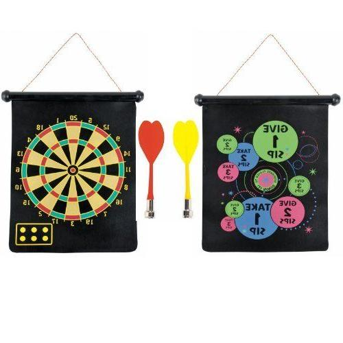 MAGNETIC DART BOARD GAME SET  ~ Adult Birthday Party Supplie