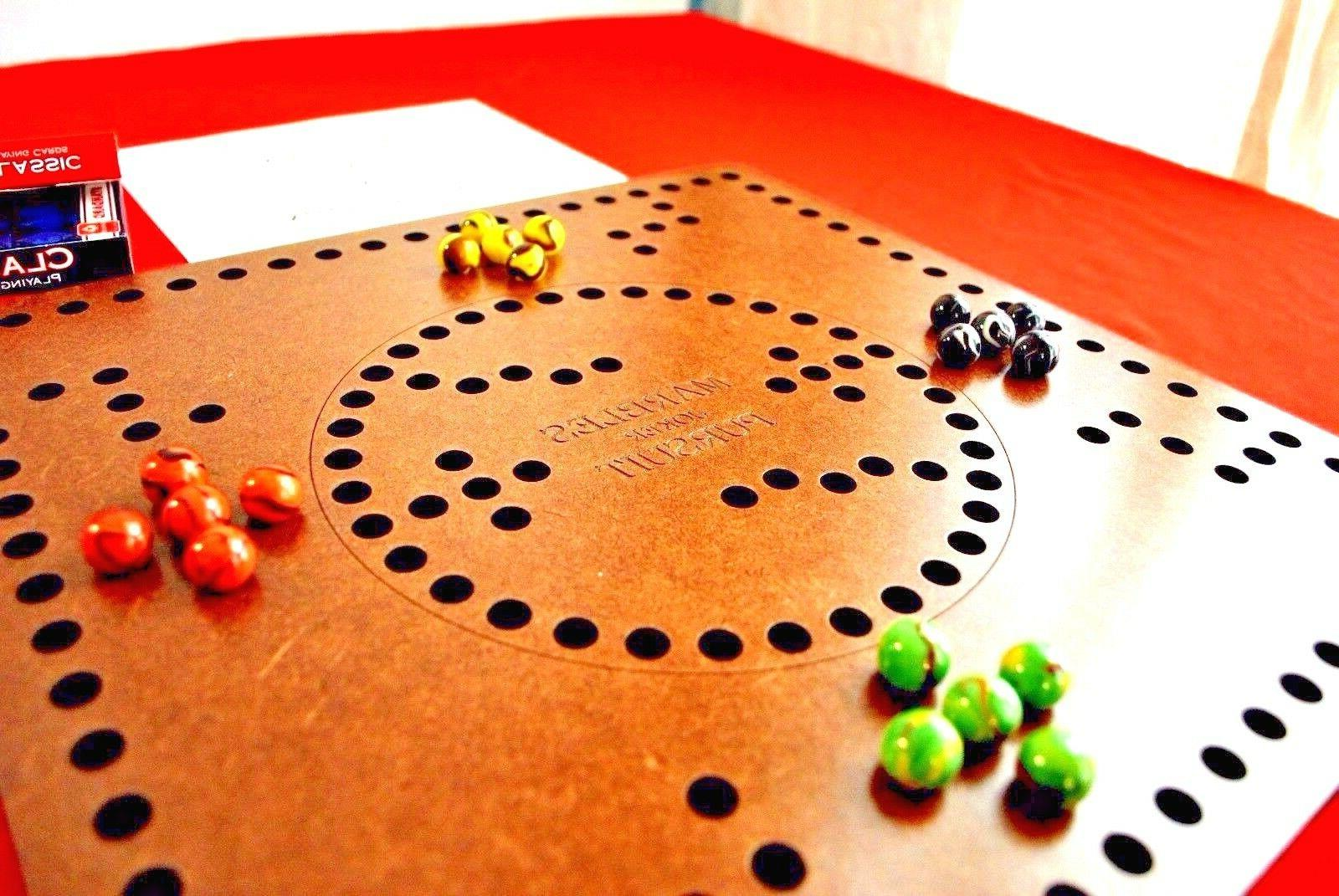 Marbles Board Game Hard Finish