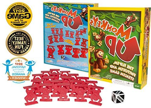 Monkeys Game Kids Strategy, Skills Improve Memory, Math All Ages, Adults Up