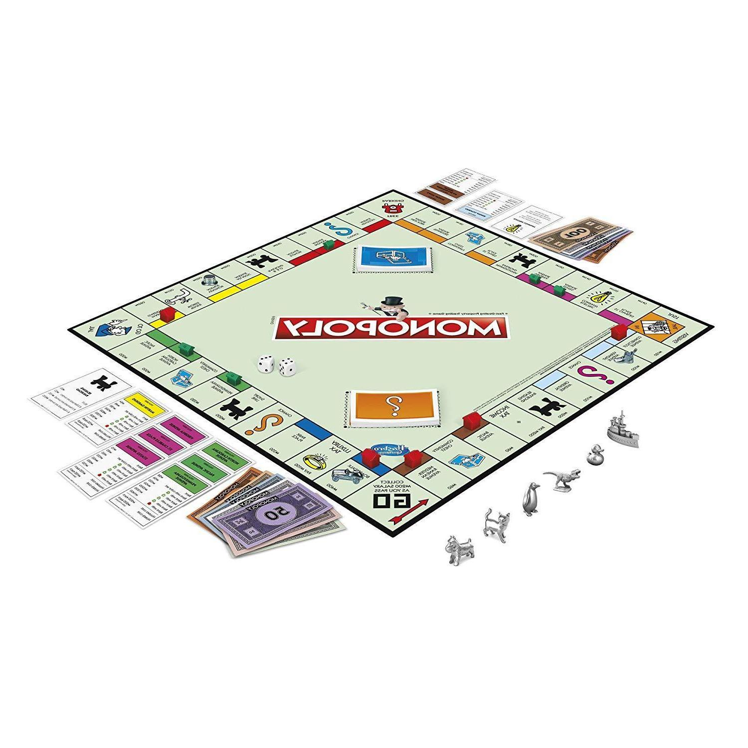 New Monopoly Playing Party