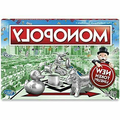 New Monopoly Classic Game Family Board Games Fun Playing Par