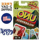 New UNO Wilderness Card Game Family Board Games Fun Playing