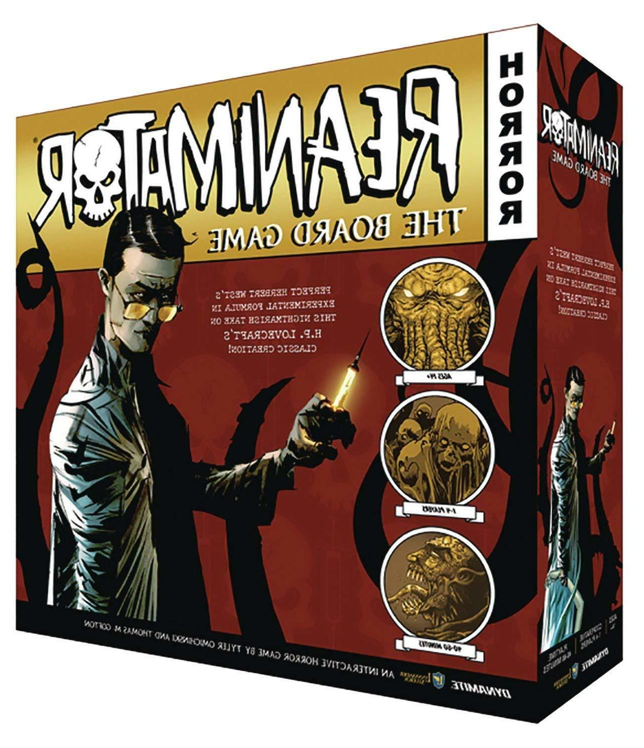 Reanimator The Board Game Dynamite Games DIA STL073181 Horro
