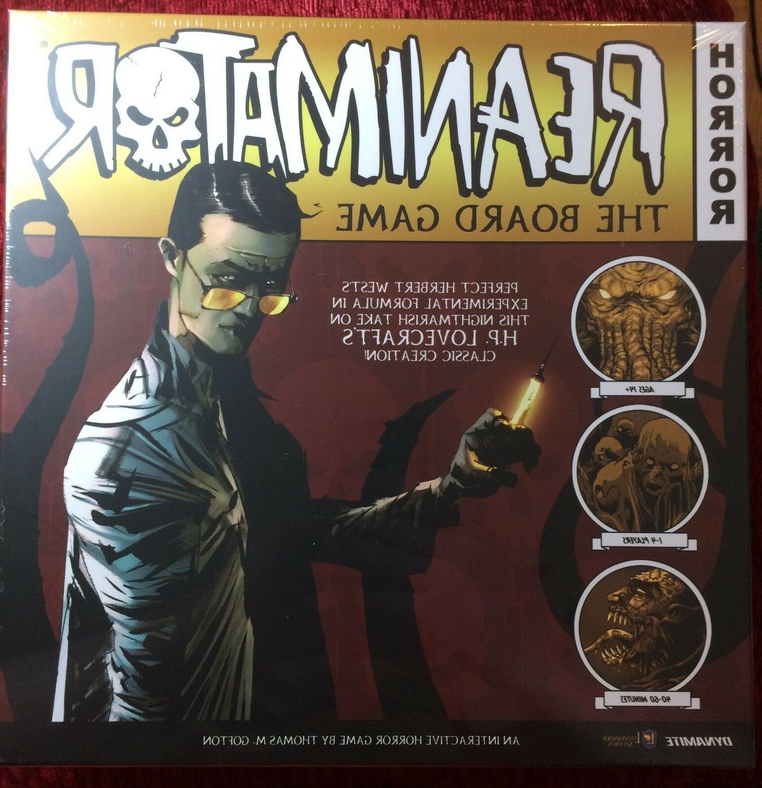 Reanimator The Board Game Dynamite Games DIA STL073181 Horro