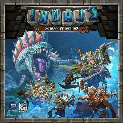 Renegade Games: Clank! - Sunken Treasures expansion