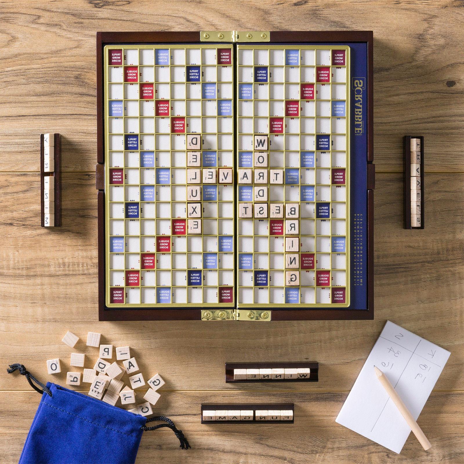 Scrabble Deluxe Board Trip