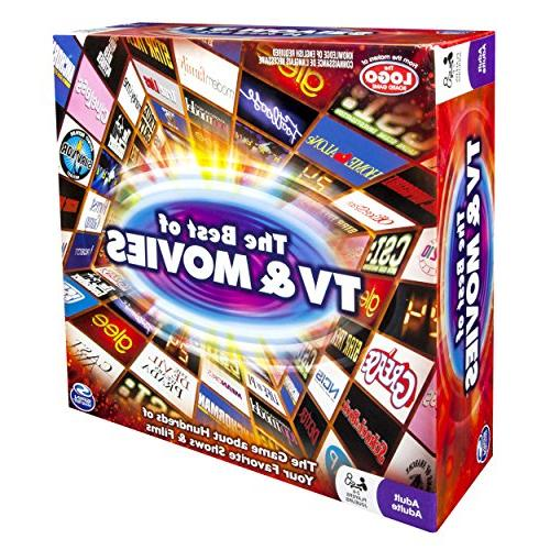 Spin Master Games: of and Board Your of TV Movies - 2-6 - Cards Family Friendly