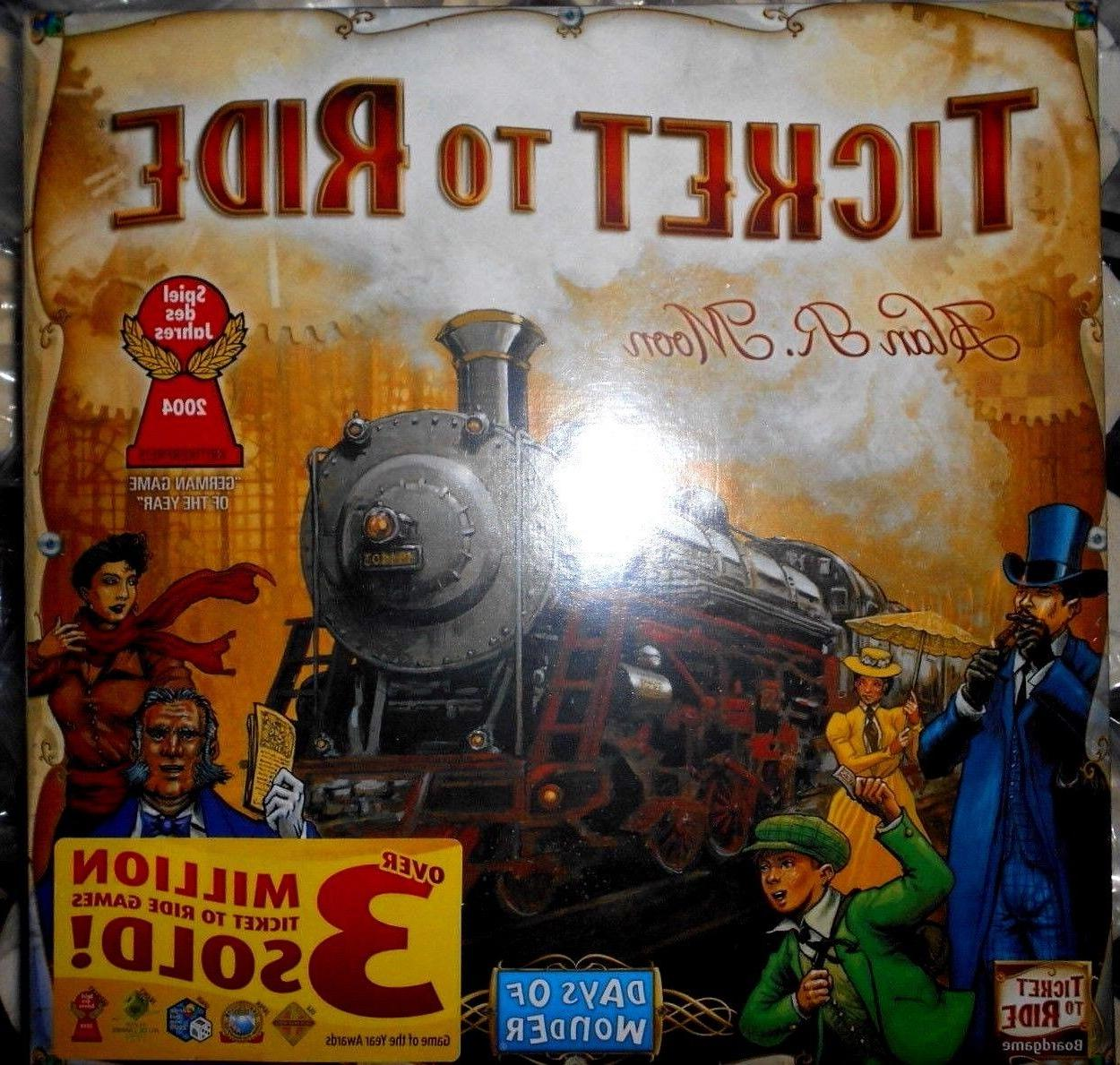 Ticket To Ride - FAST SHIPPING