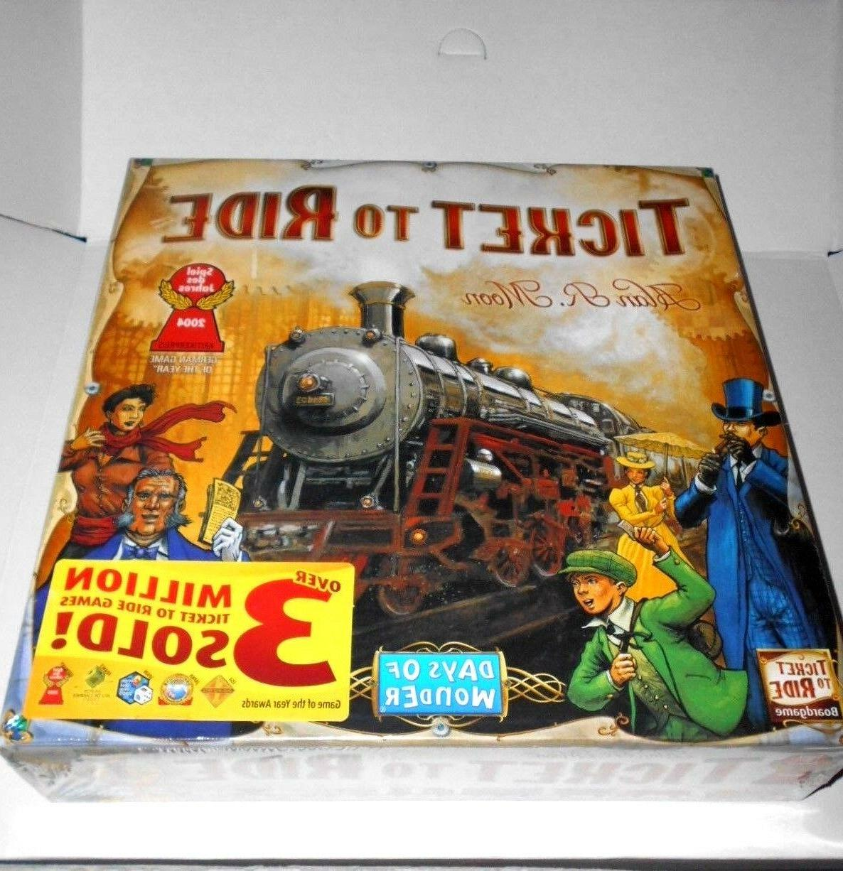 Ticket To Ride Family Board -