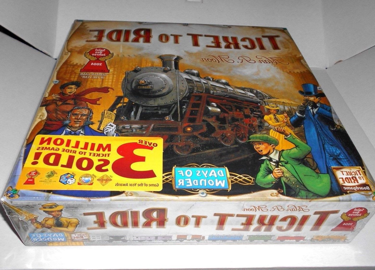 Ticket To Ride Board Game- FULL SIZE! - FAST