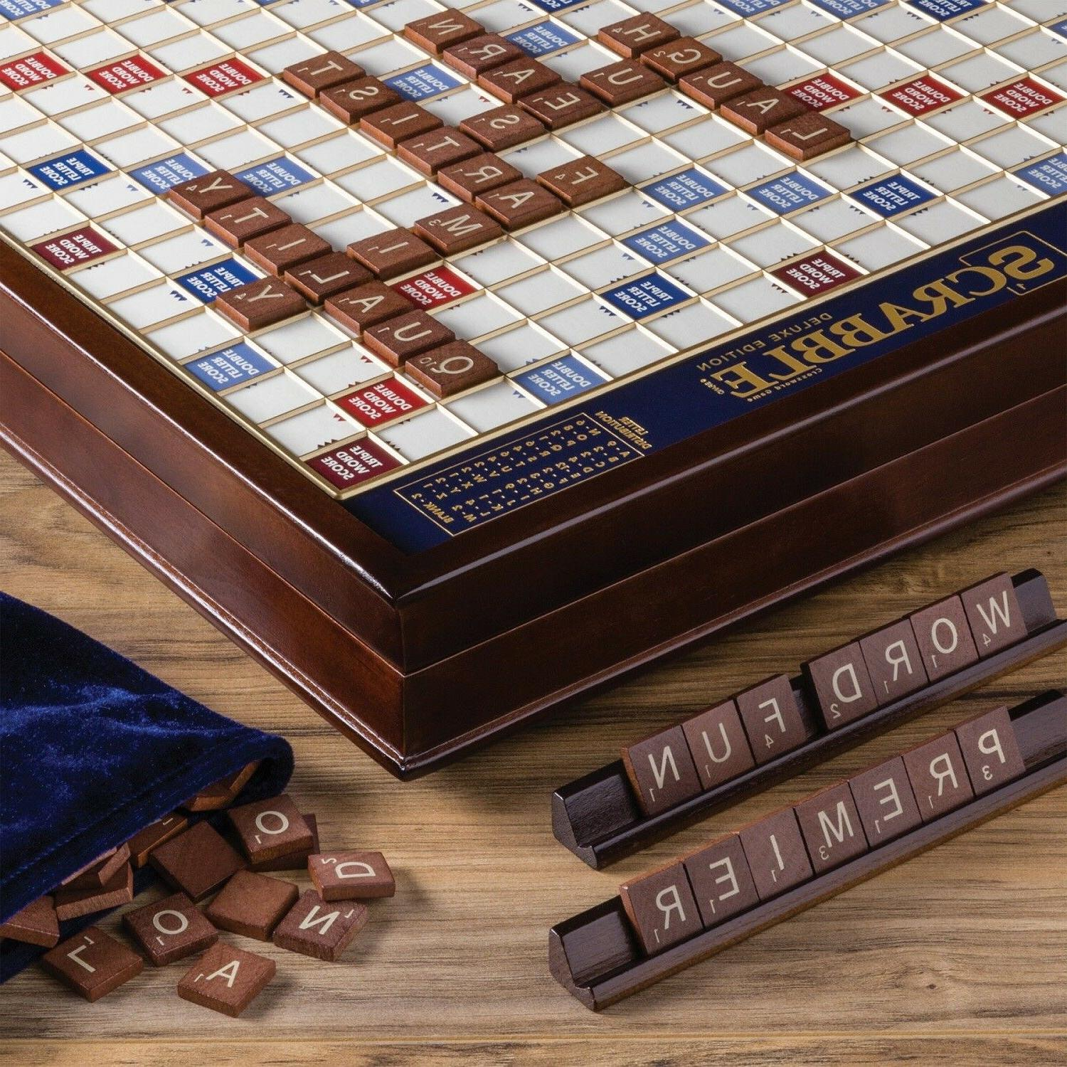 Winning Scrabble Deluxe Edition NEW