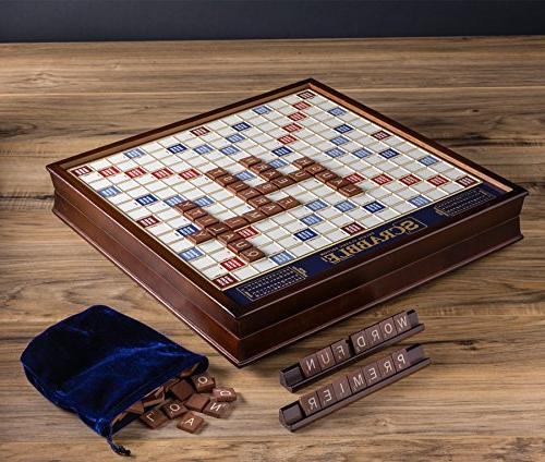 Winning Solutions Wooden Edition with Rotating Game Board