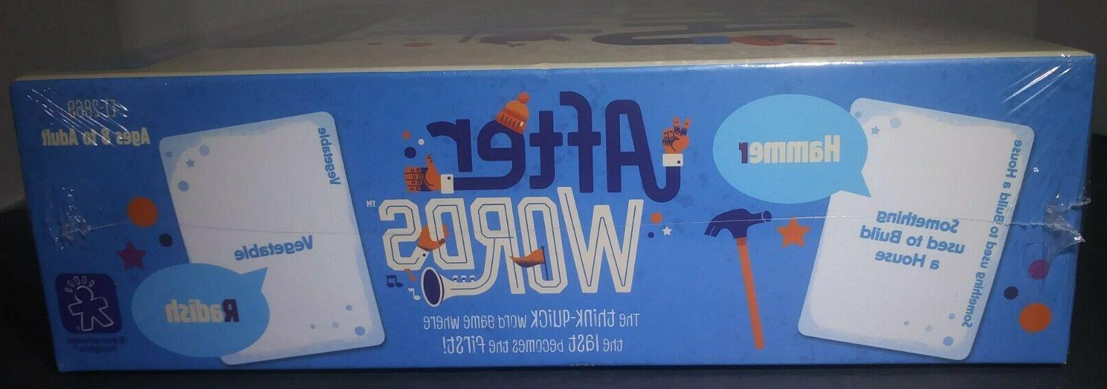 Educational After Board Game Word Ages 8 &