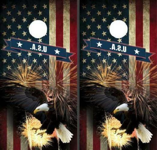 American Eagle Corn Boards Game