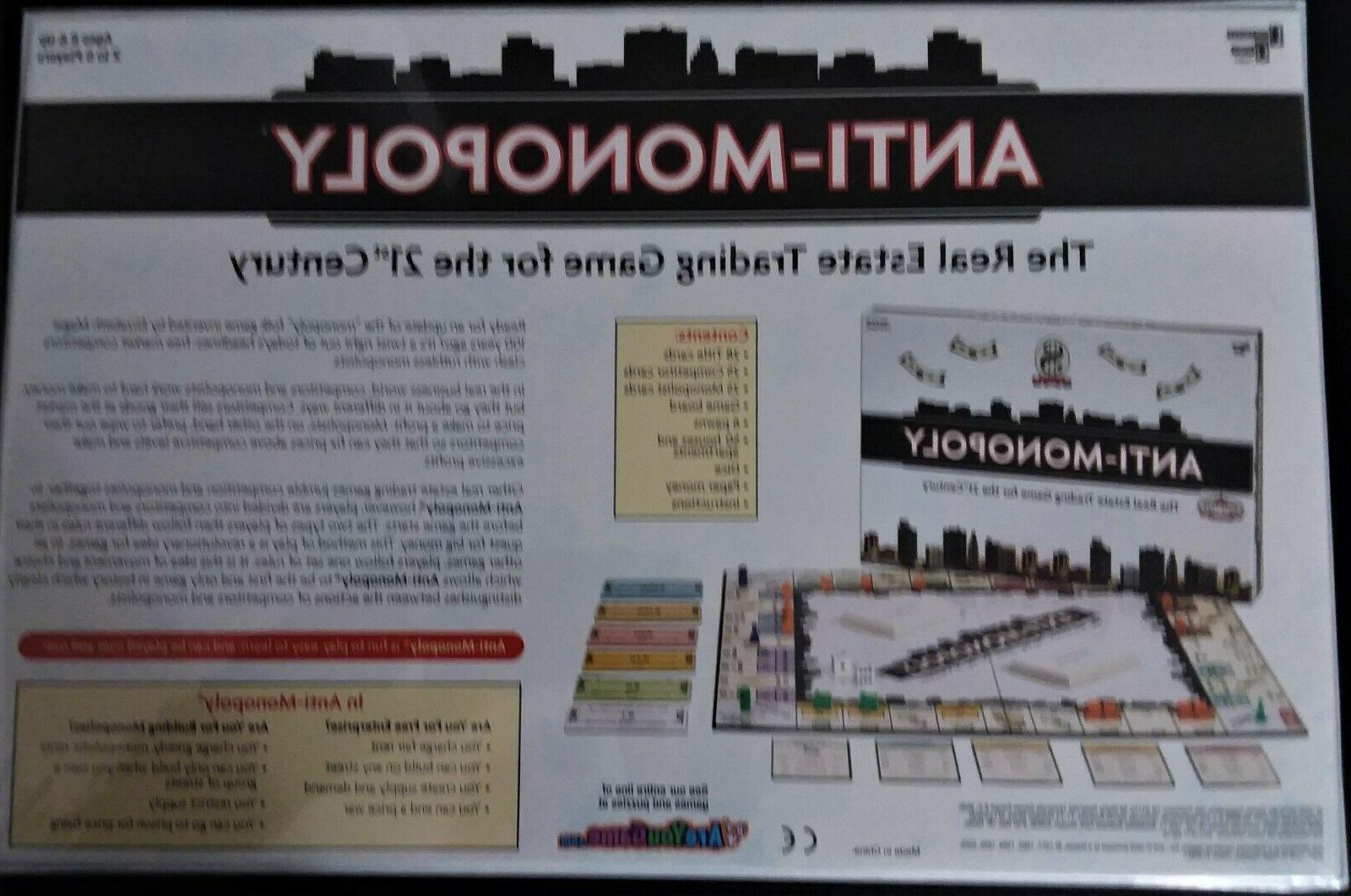 Anti-Monopoly By University New