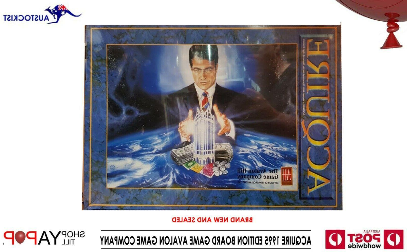 aquire board game vintage 2005 edition bnib