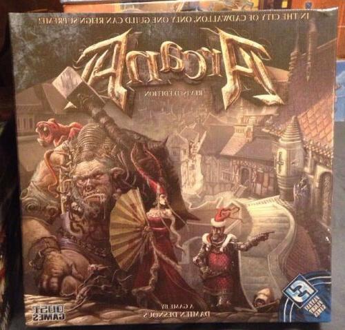 arcana board game fantasy flight dust games