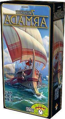 Armada Expansion 7 Wonders Board Card Game Asmodee ASM SEV13