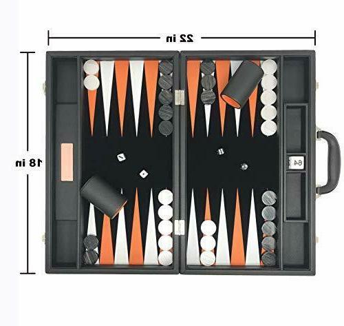 backgammon set premium large 18 classic board