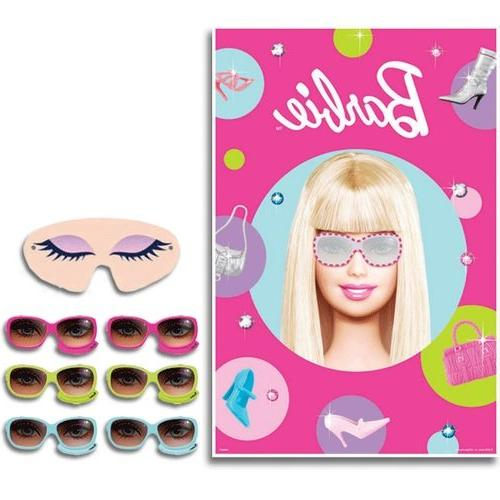 Barbie 'All Doll'd Up' Party Game Poster