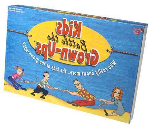 Kids Battle the Grown-Ups Board Game