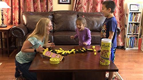 BuzzBlocks An to Stacking Game, Top Toy Building Kids, Pieces #1 & Premium 1 More Players Ages and