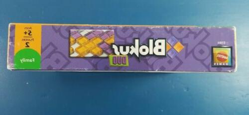 BLOKUS DUO Board Mattel Games R1984 2-Players New Sealed.