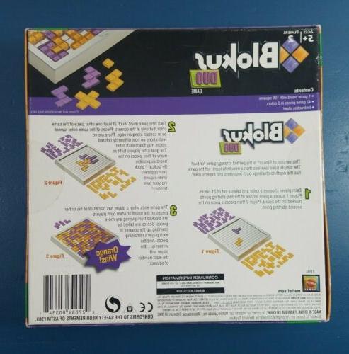 BLOKUS Mattel Games R1984 2-Players