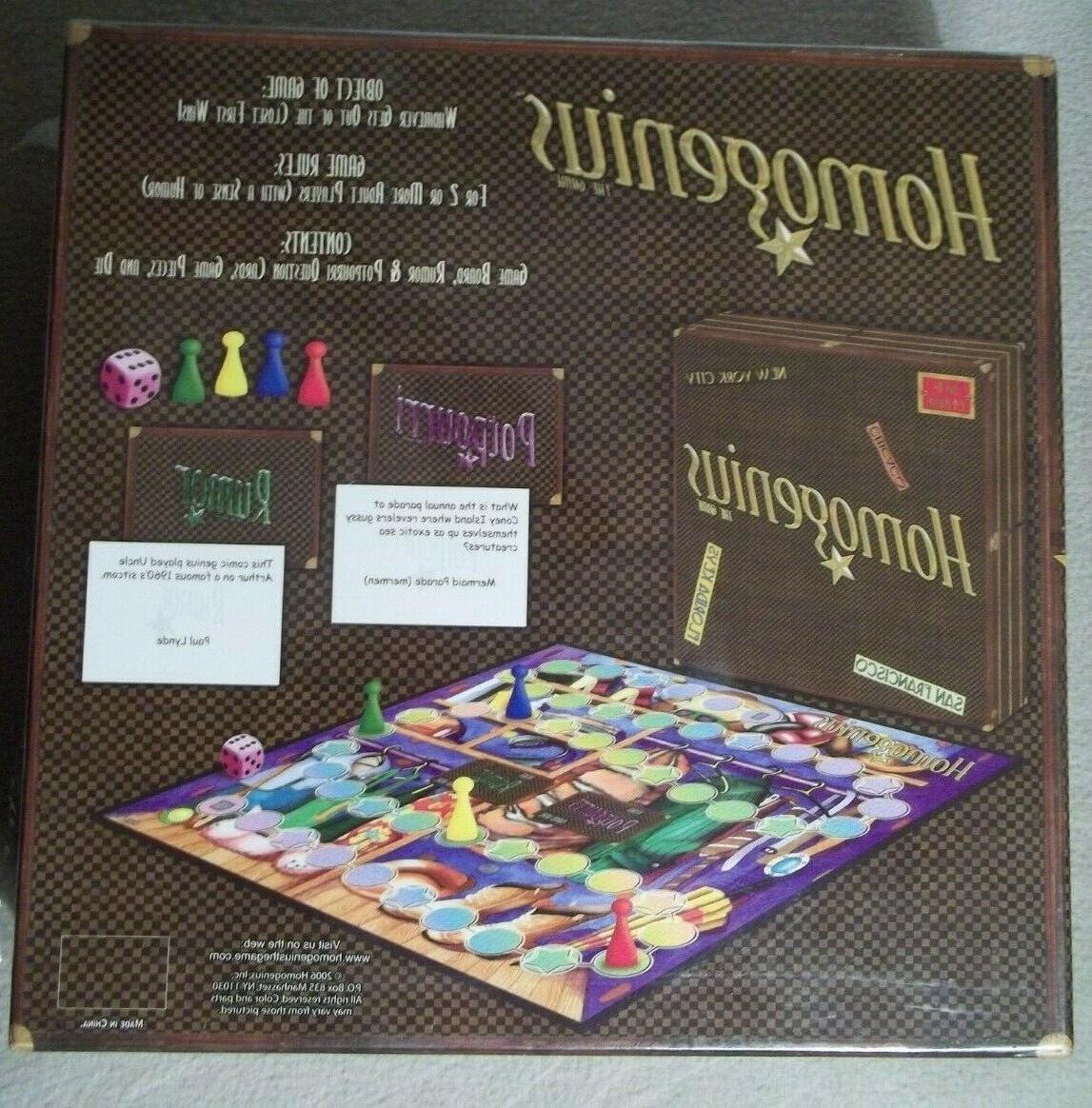 Homogenius Board Game LGBTQ Adult