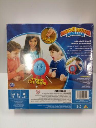 Spin Games Boom Balloon Board Game New