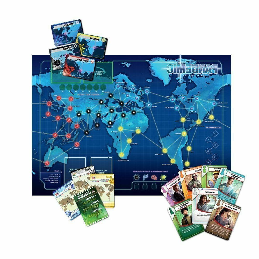 Pandemic Can Humanity? Board Game