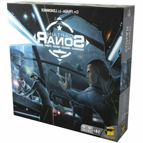 NEW! Captain Sonar Game Sealed in Original Packaging Free Shipping NOW
