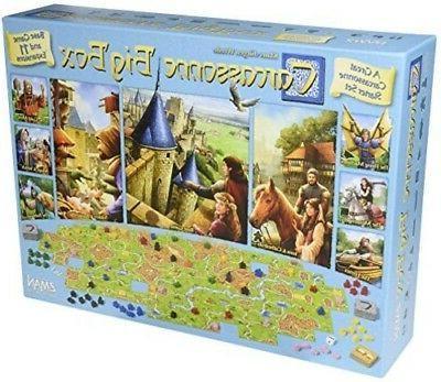 carcassonne big box 2017 new games board