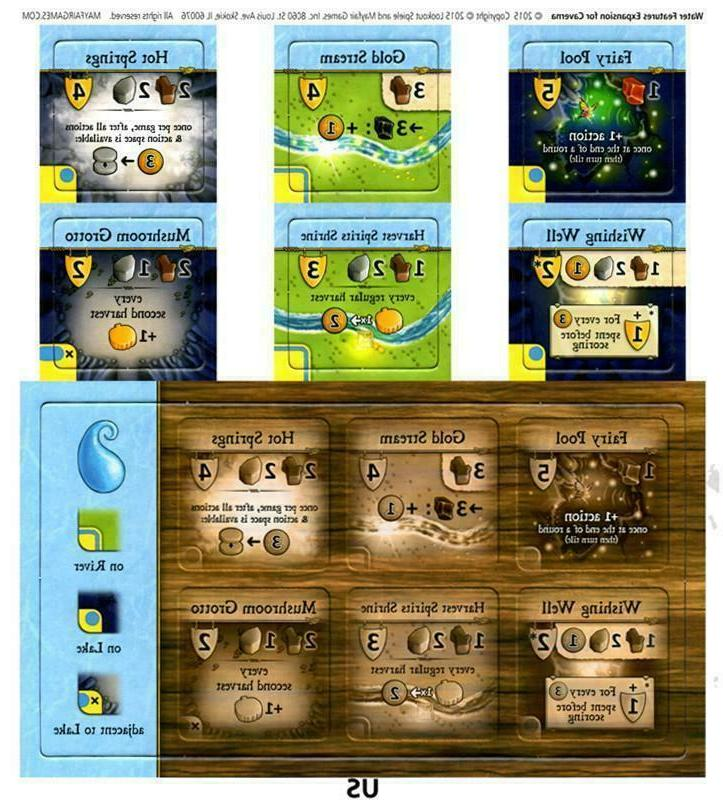 caverna board game water expansion promo expansion
