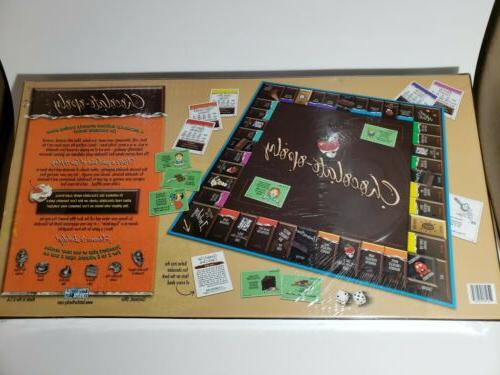 Chocolate-Opoly Monopoly Theme Chocolate factory sealed.