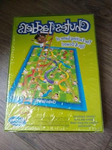 Chutes and Ladders Hasbro Gaming Fun Board Game