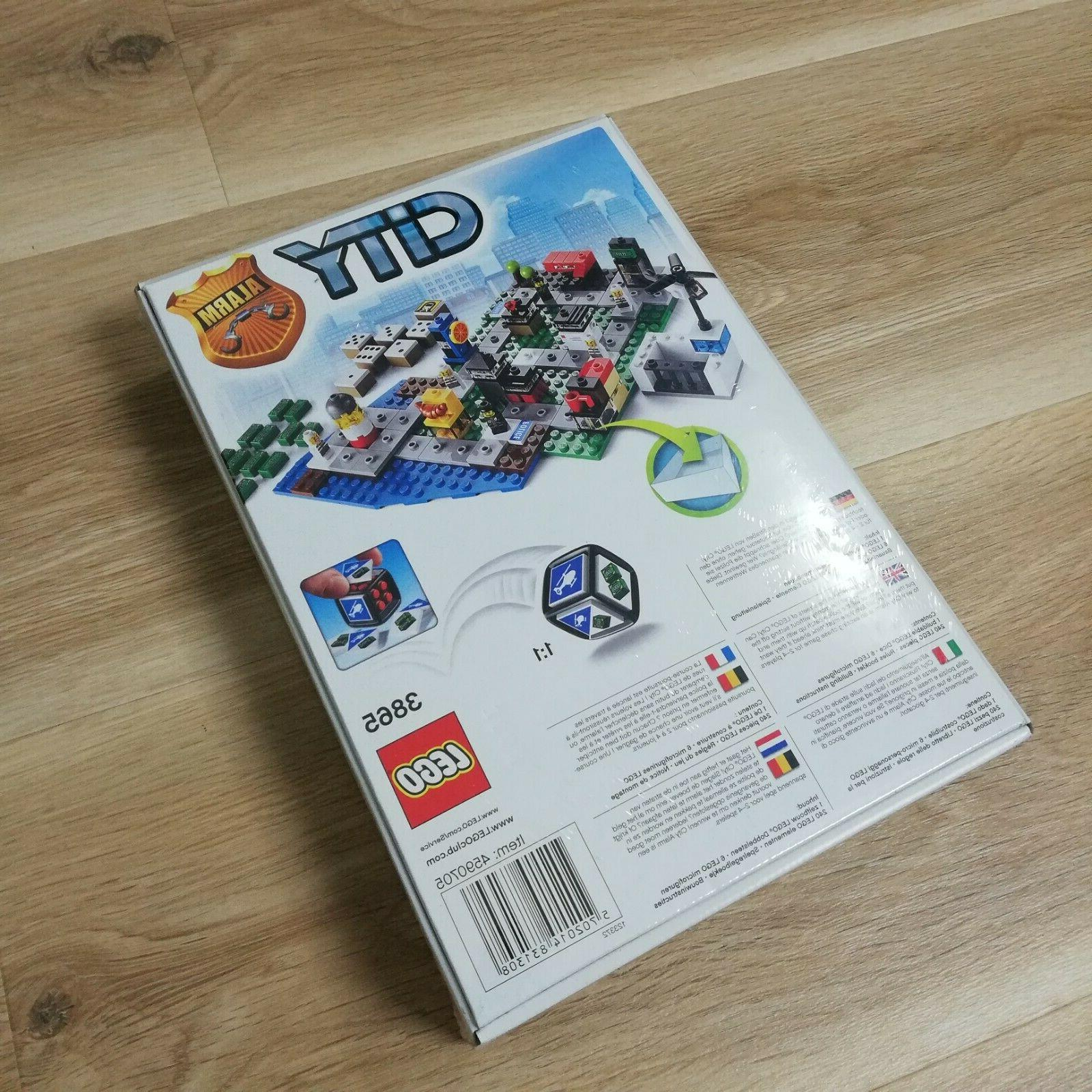 LEGO City Board Game 3865 Brand Sealed