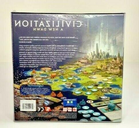 Civilization - New Dawn Board Game NIB Brand Flight