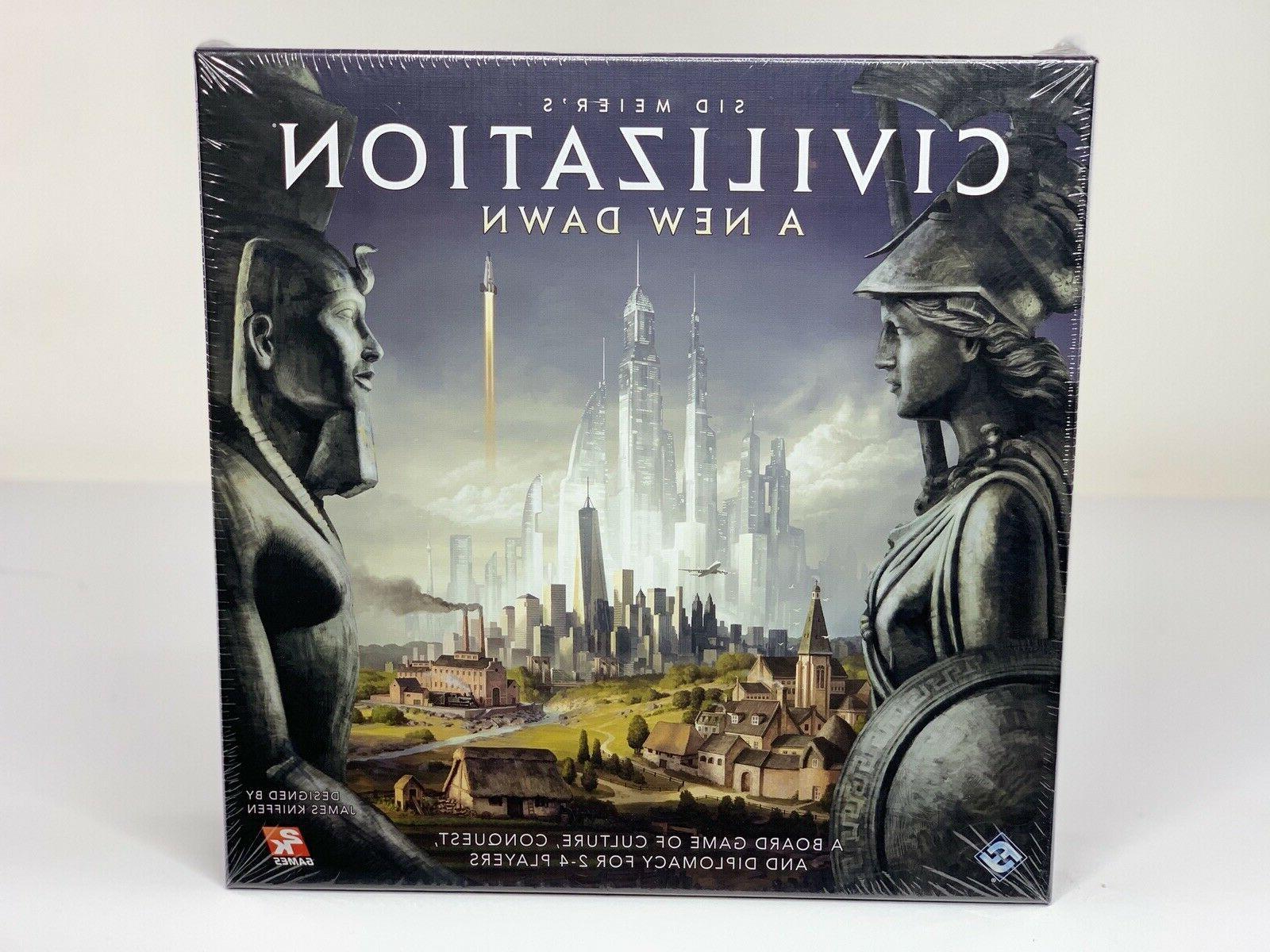 civilization a new dawn board game sealed