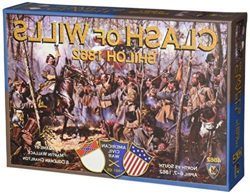 clash wills shiloh 1862 board