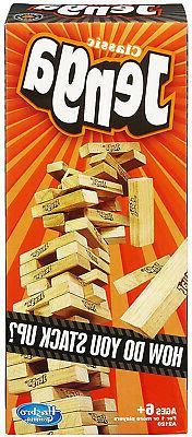 Jenga Classic Game Building Block Interactive Kids Toys Wood
