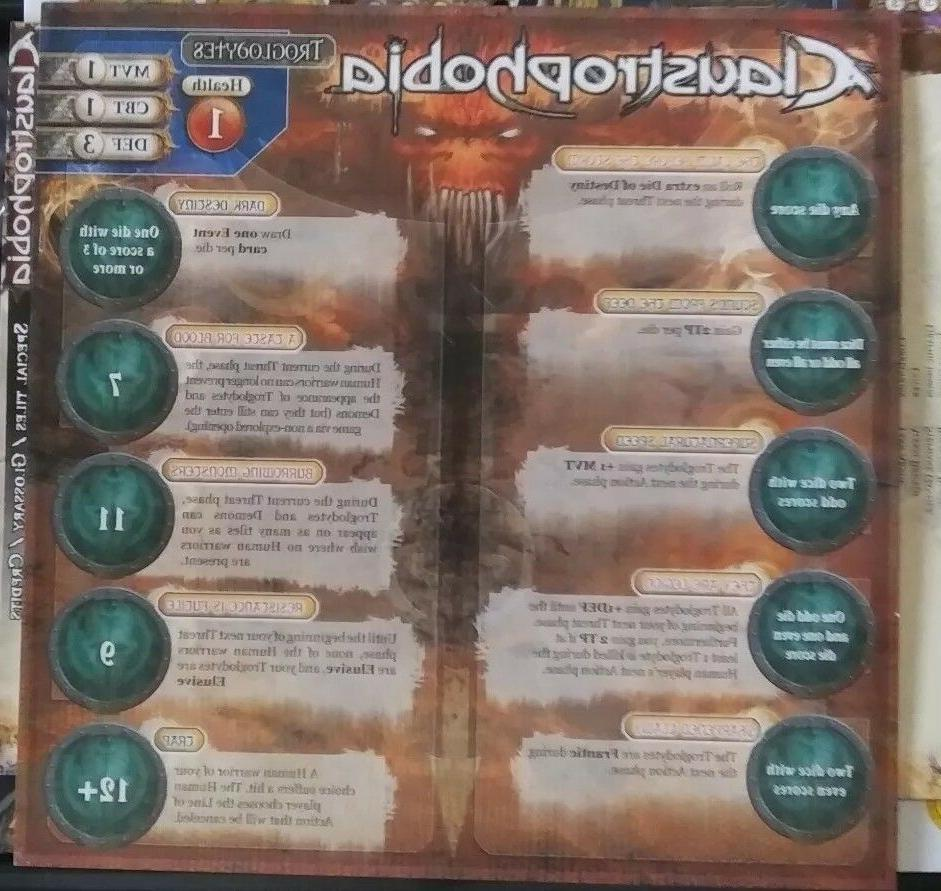 Claustrophobia game Asmodee,